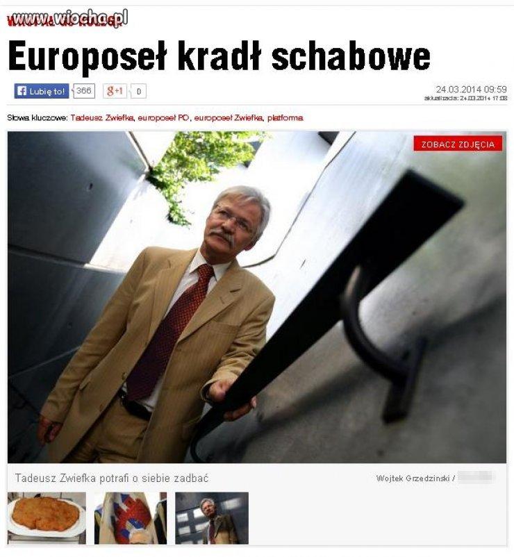 Europoseł Platformy Obywatelskiej