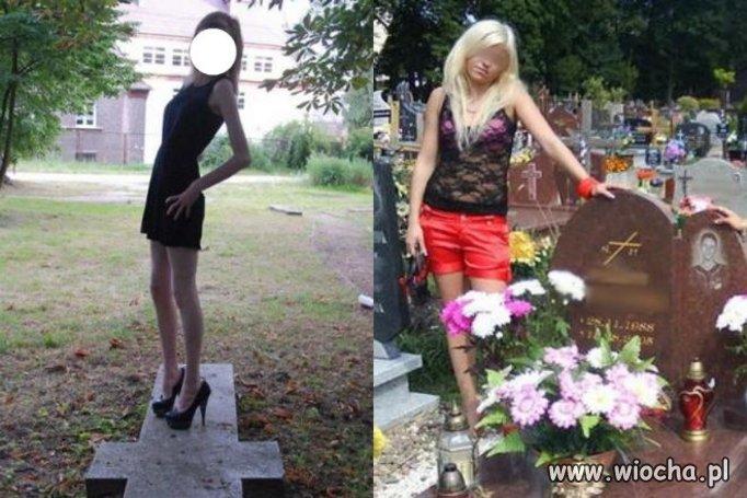 Cmentarianki zawsze w modzie..