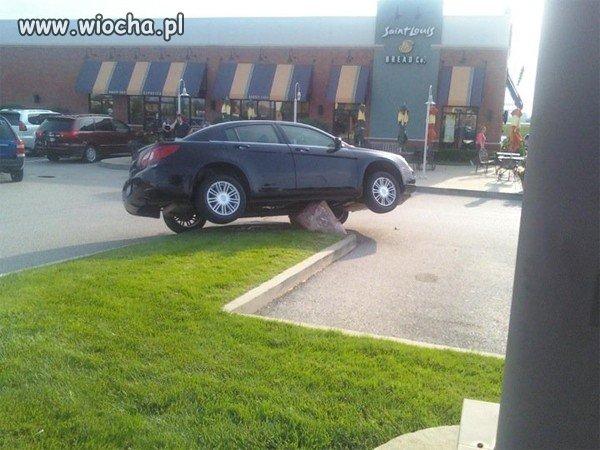 Mistrz kierownicy zaparkował