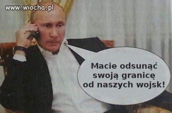 Putin zgodził się na pokojowe rozwiązanie kryzysu.