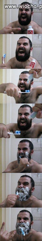 This is mycie zębów