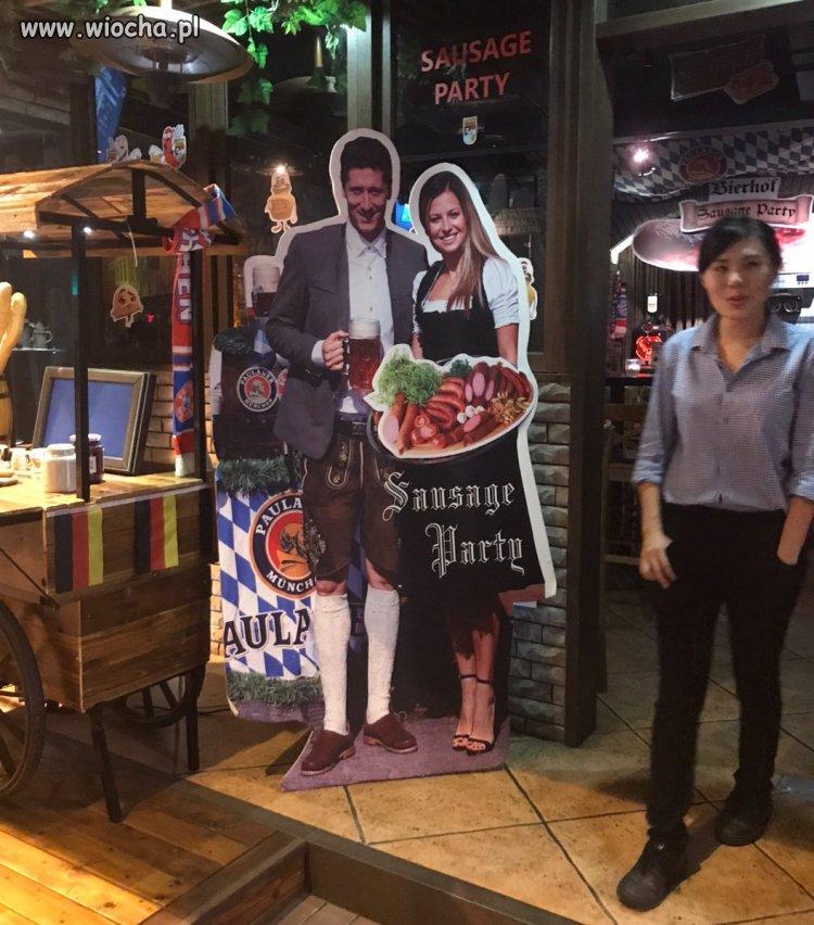 Niemiecka restauracja w Hong-Kongu