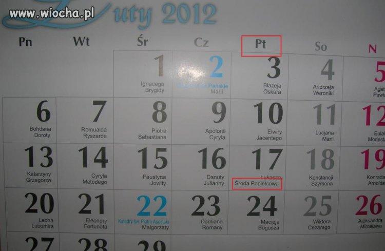 Kalendarz...prawdę ci powie