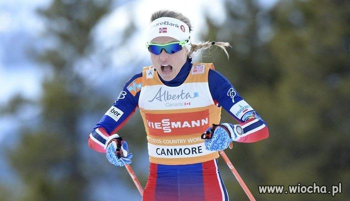 Johaug Therese - wreszcie złapana na dopingu