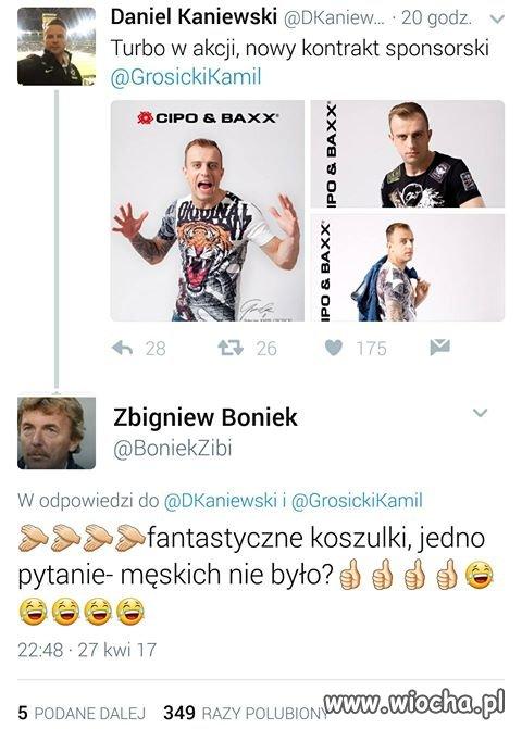 Boniek pojechał Grosikowi