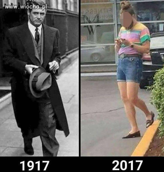100 lat ewolucji, coś wyraźnie poszło nie tak