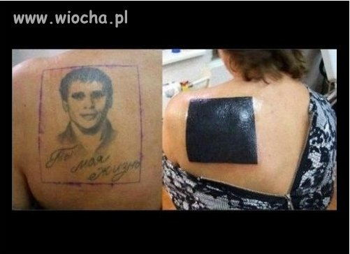 Najlepsze zakrycie nieudanego tatuażu