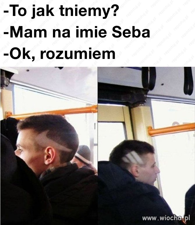 Mam na imię Seba