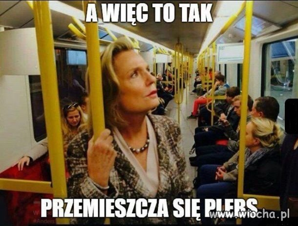 A w metrze nie ma biznes klasy.