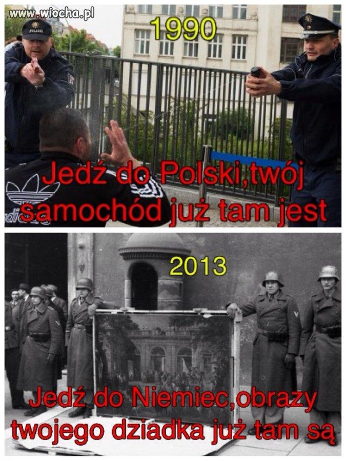 Kiedyś Niemcy drwili z Polaków