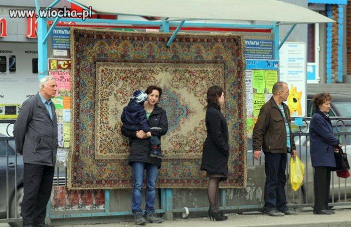 A to pewien przystanek autobusowy w Rosji