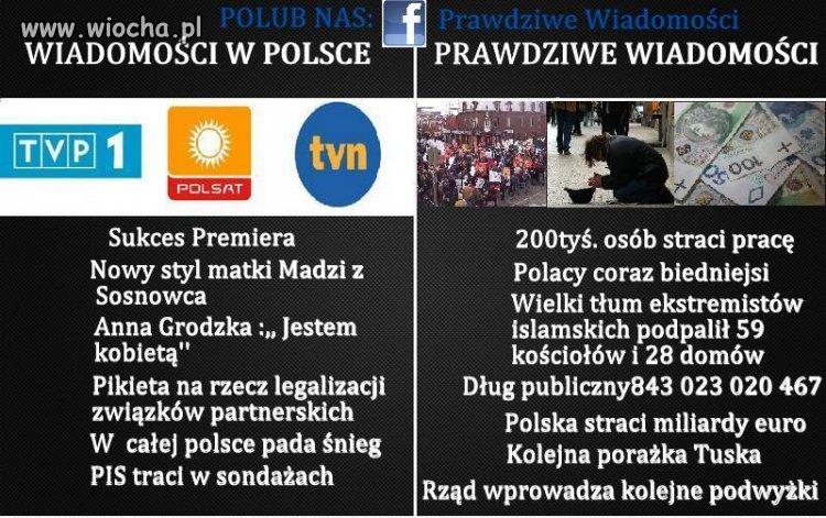 Wiadomości w Polsce ! Wiocha !!!