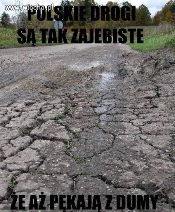 Polskie drogi są tak śliczne