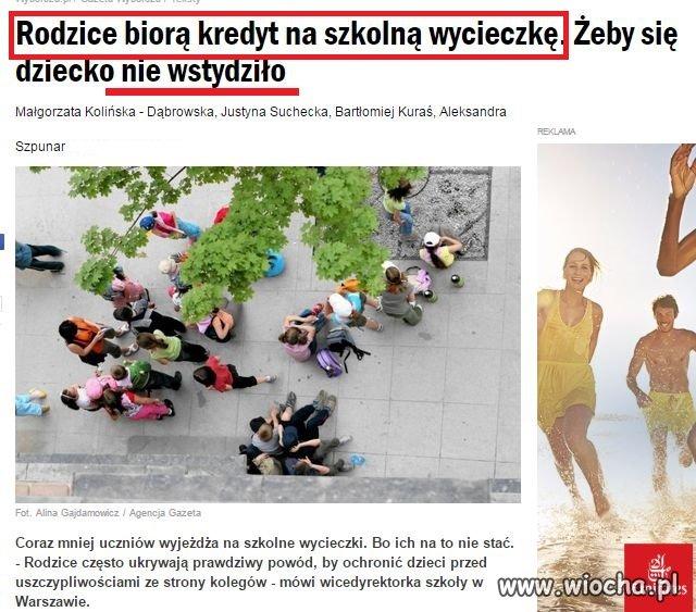 Złoty okres dla Polski - Kredyt na wyprawkę także?