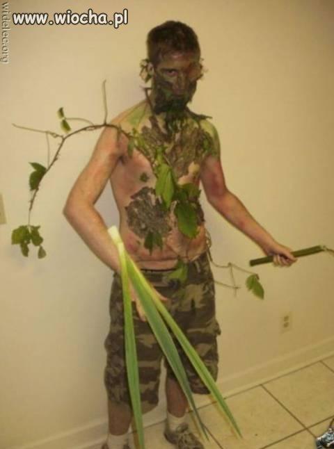 Człowiek prosto z lasu