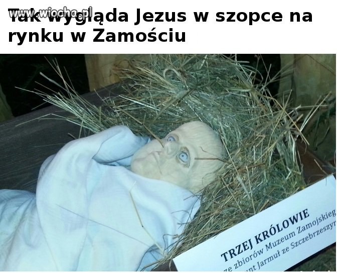 Jezusek z Zamo�cia.