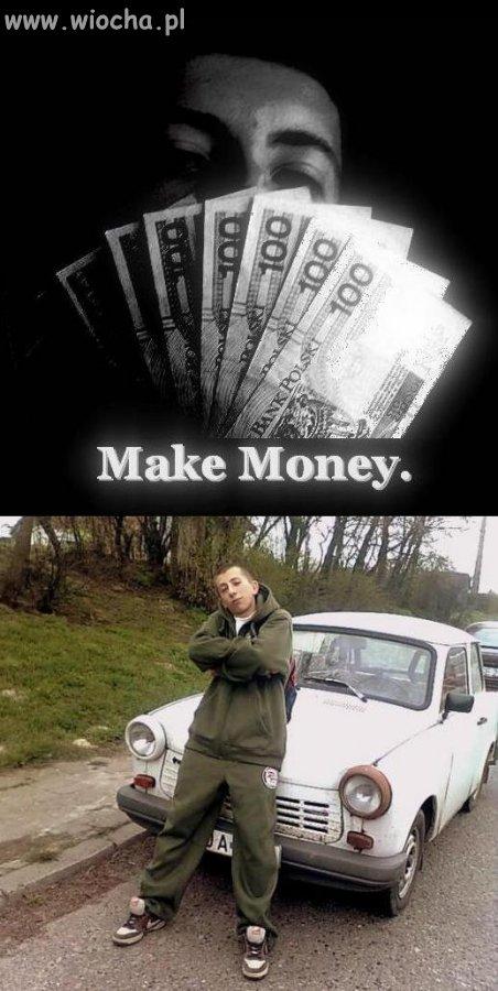 Pieniądze z komunii, trzeba się nimi pochwalić..