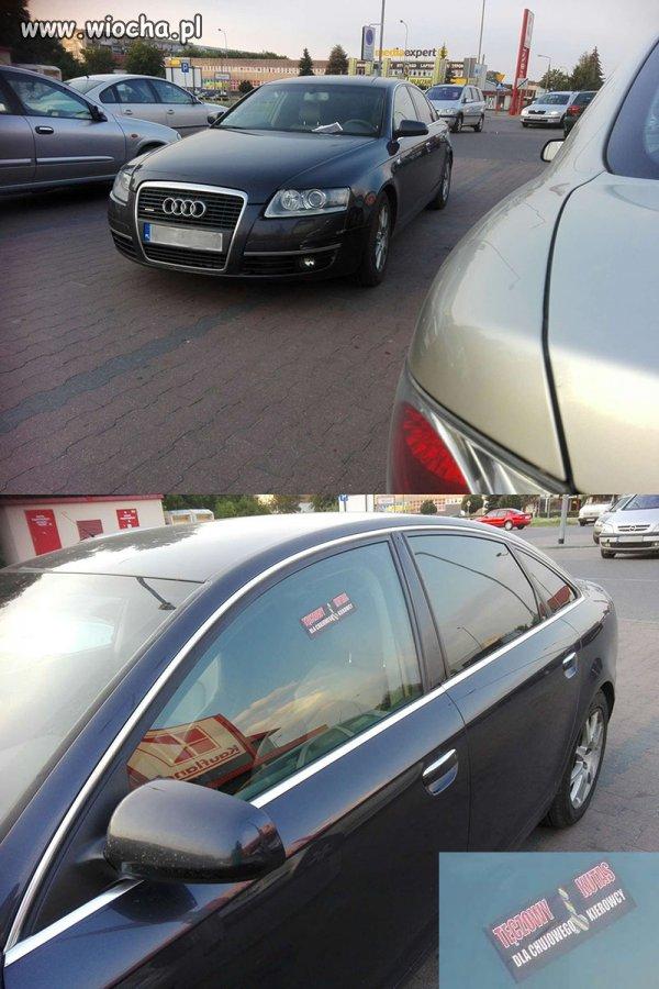 Parkowanie na prawie 4 miejscach na raz