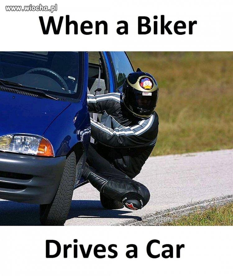 Kiedy motocyklista