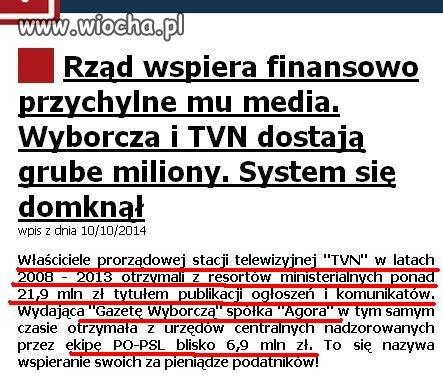"""PŁATNA PROTEKCJA"" cd afery RYWINA"