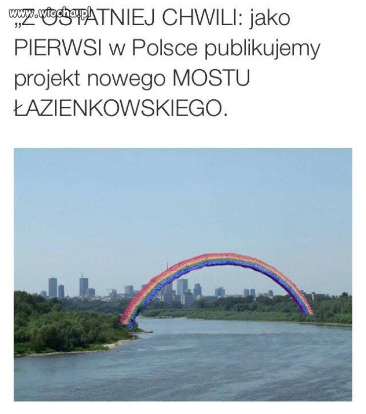 Most lewackich projektantów