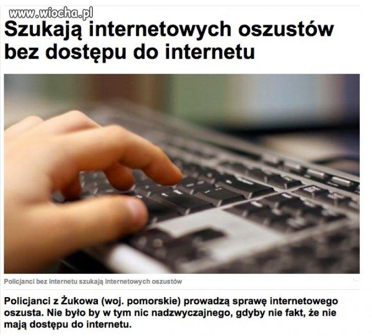 Policjanci bez dostępu do sieci