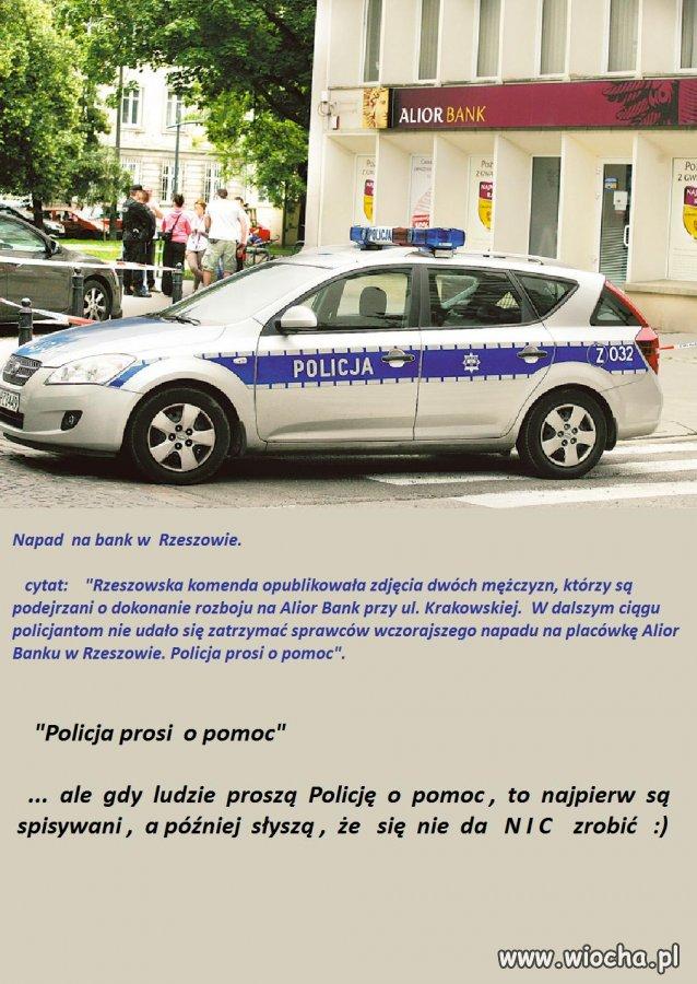 Żałosny  apel  Policji