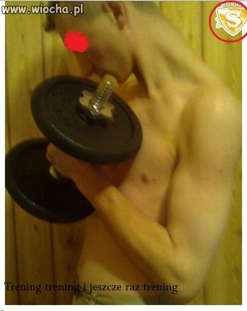 Trening, trening i jeszcze raz trening