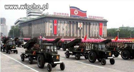 Pokaz siły Korei Północnej