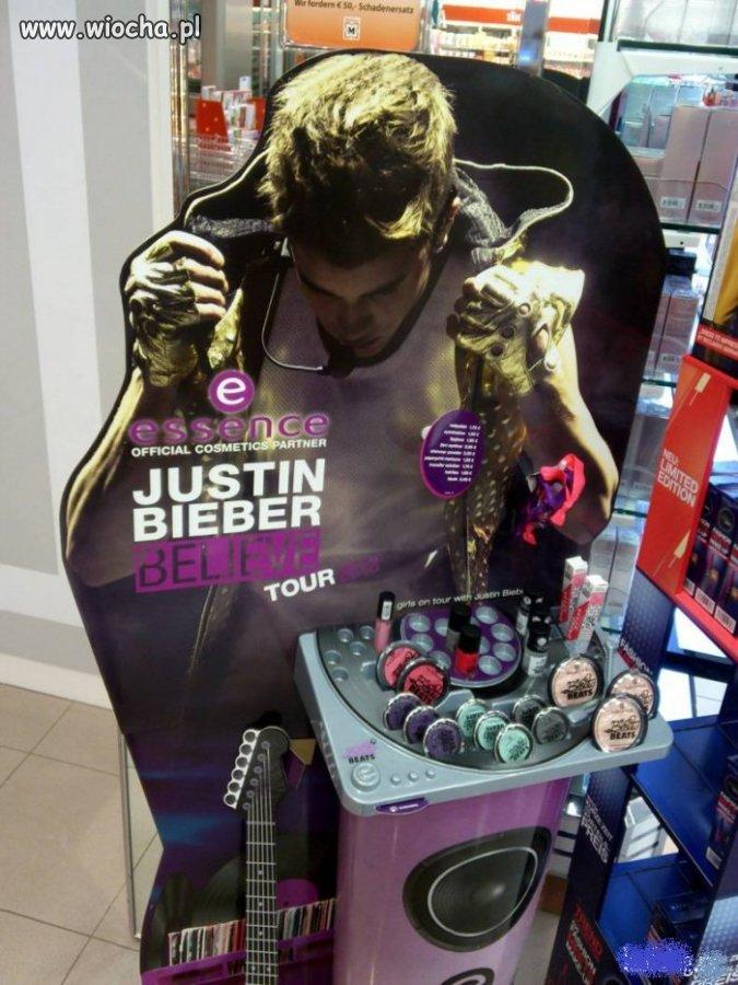 Seria kosmetykow Justin Bieber.