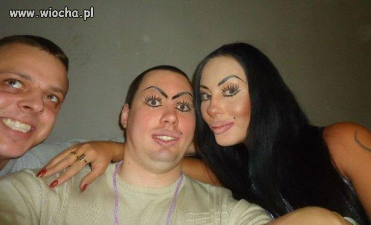 Mistrzowie makijażu.