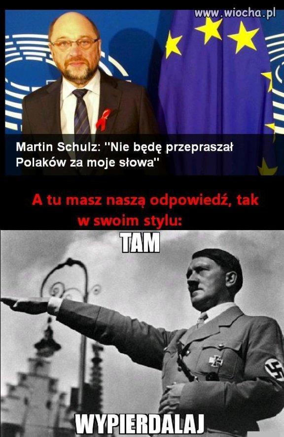 Z dedykacją do Pana Schulza ...