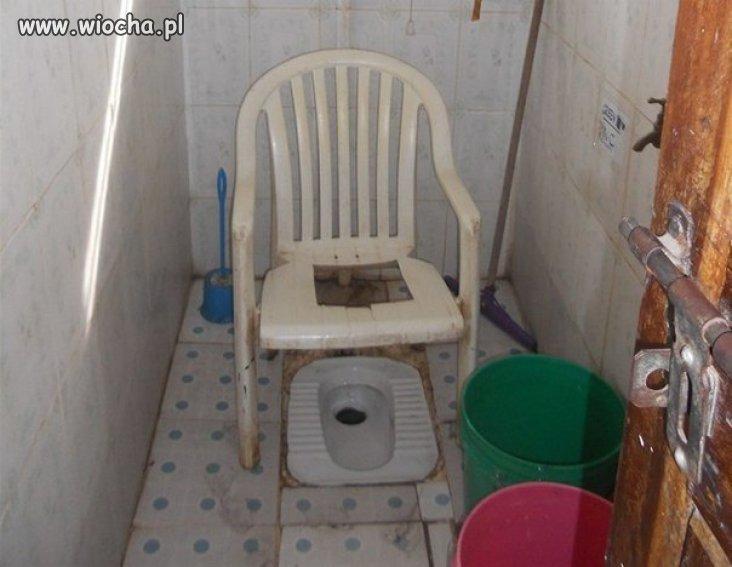 Toaleta w Rosji.