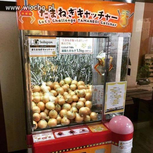 Automat z cebulą!