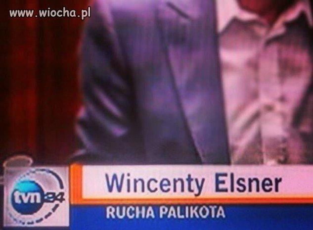 Co poseł Elsner robi Palikotowi?