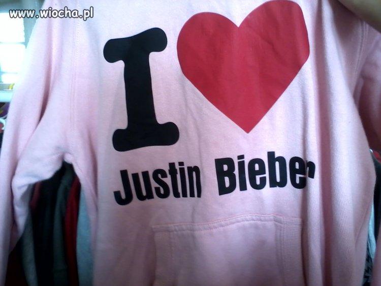 Bluza z Justina Biebera ! Hahaha Wtf ?
