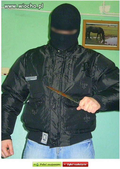 Zły ninja.