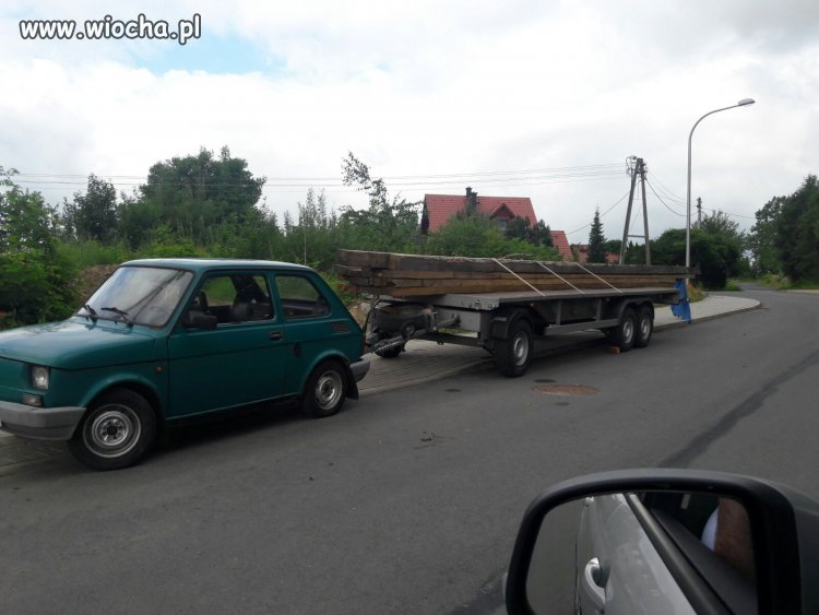 Tir marki FIAT 126P