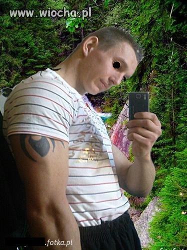 Przypakowany mistrz Photoshopa