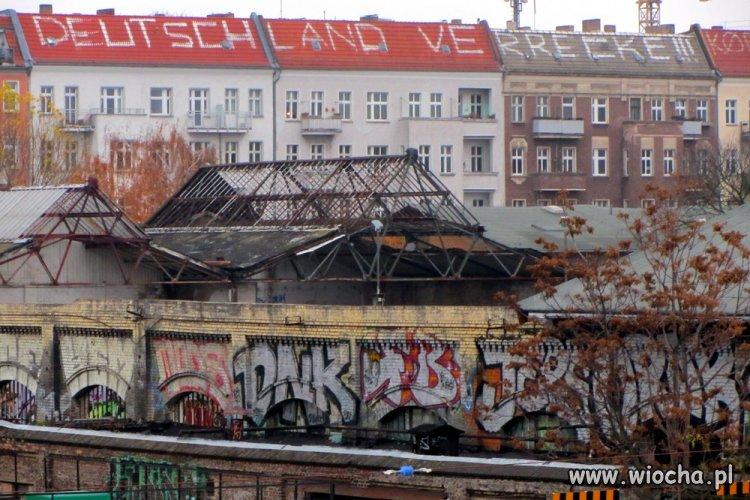 Warschauer Strasse - Berlin. Wiadomość lewków