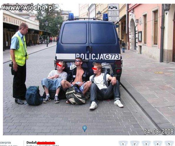 Polski stróż prawa... Jego wygląd...