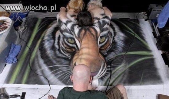 Tygrysek dla spostrzegawczych...