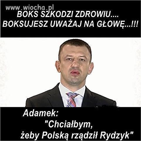 Powrót Adamka