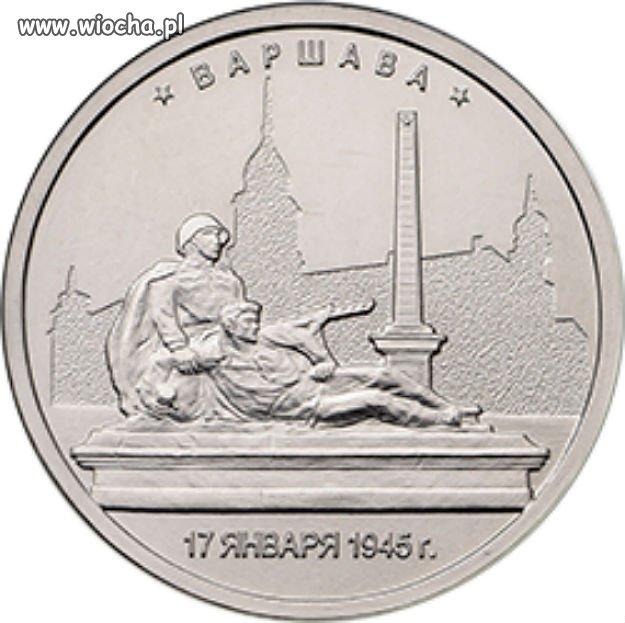 Nowa 5-rublówka Wyzwolenie Warszawy