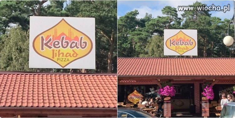 """Ktoś w Łebie nazwał knajpę z kebabem """"Jihad"""""""