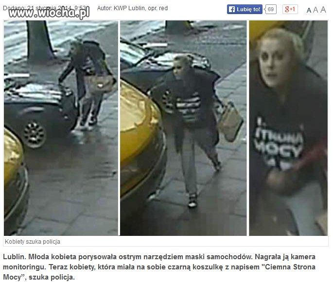 Wyrządziła szkodę na 10 tys. zł, tak po prostu...