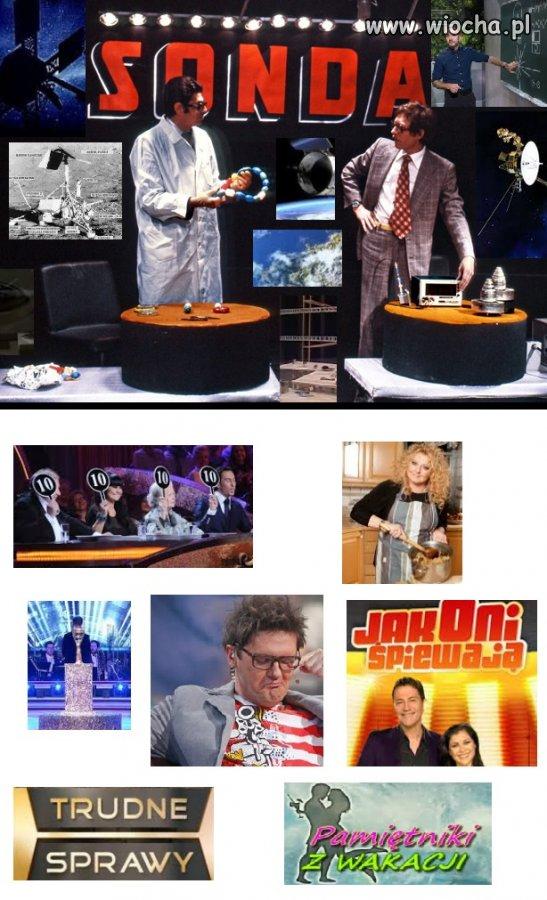 Programy telewizyjne kiedyś/dziś