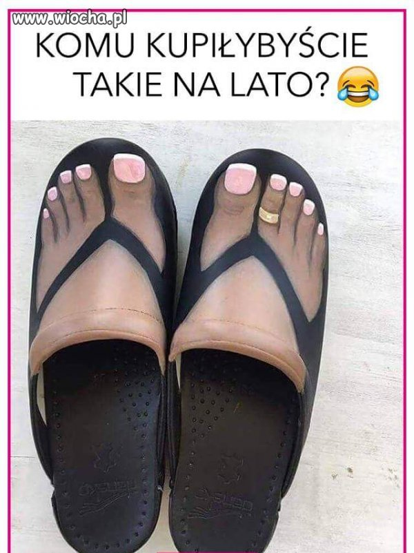 Kiedy masz tak paskudne stopy