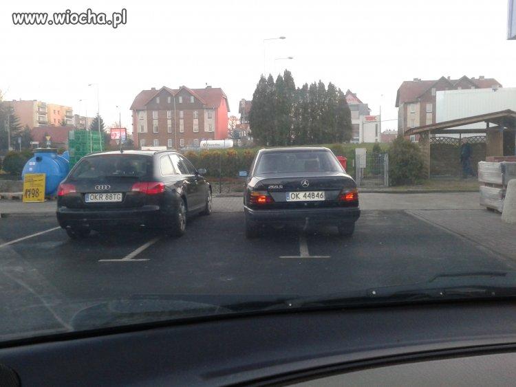 Castorama Kędzierzyn. Mistrz parkowania.