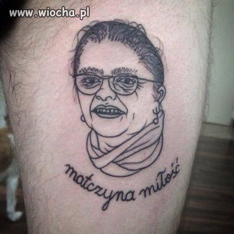 Tatuaż z idolem, najlepszym wyborem.